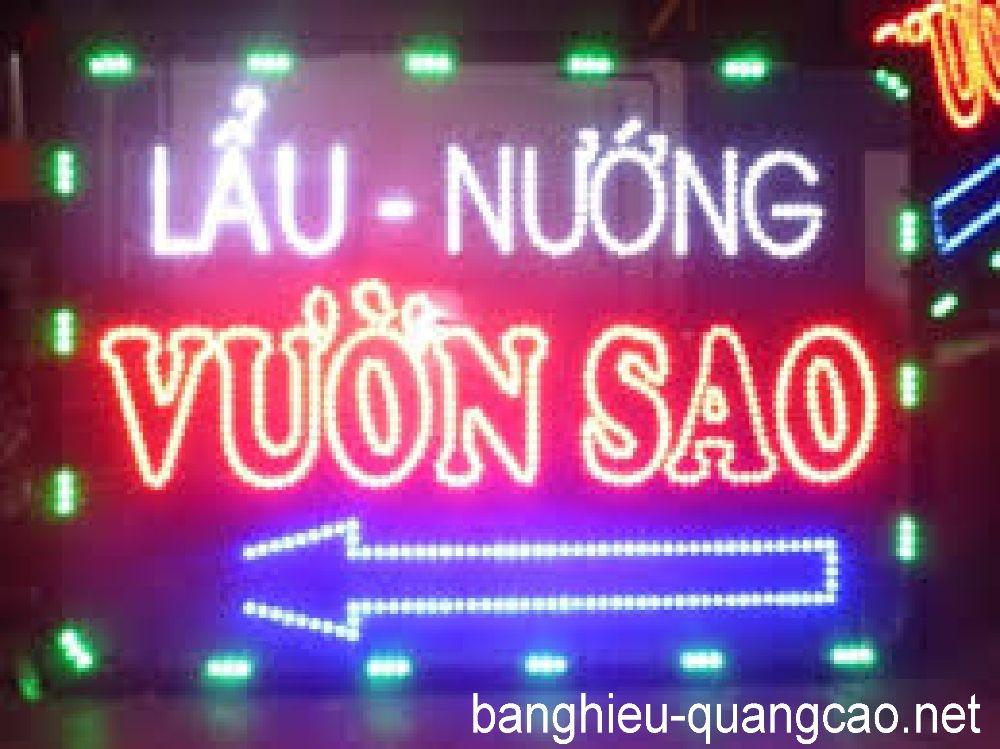 Mẫu bảng hiệu LED đẹp