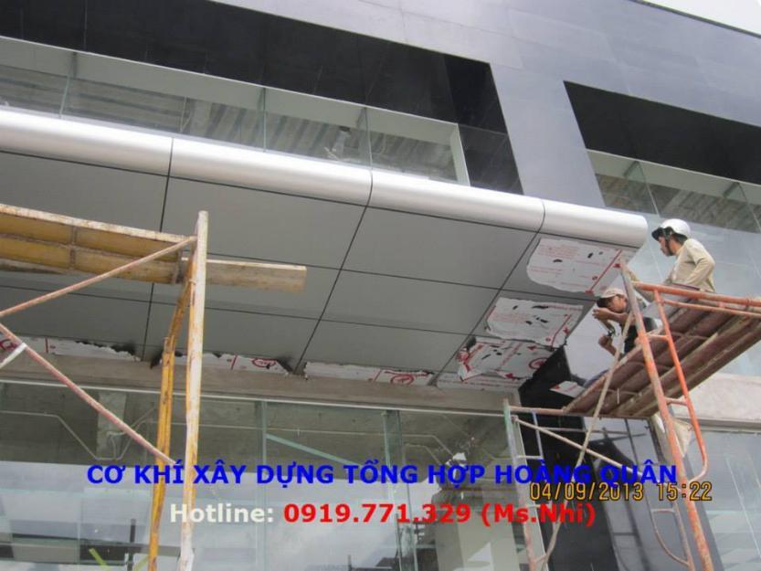 Giá thi công mặt dựng Aluminium