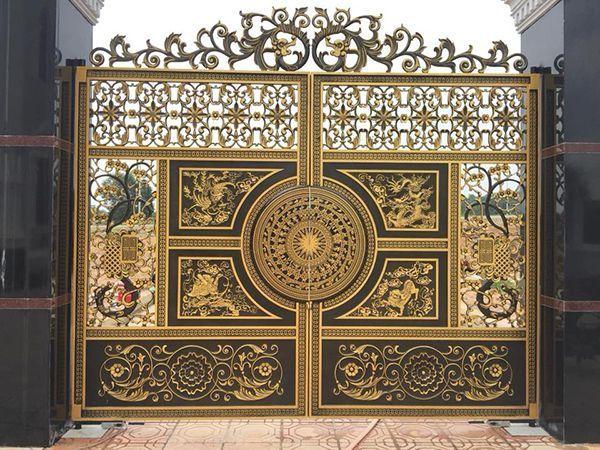 Lưu ý khi thiết kế tạo kiểu mẫu cổng biệt thự sang trọng