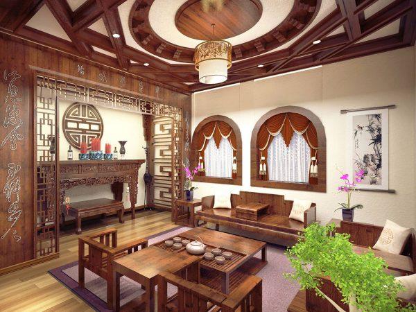 Mẫu phòng thờ cnc Lan Việt 016