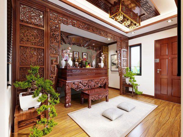 Mẫu phòng thờ cnc Lan Việt 023
