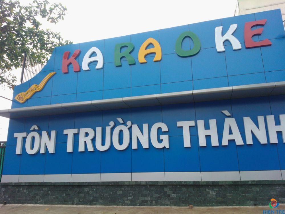 Trang trí phòng karaoke, bảng hiệu karaoke,