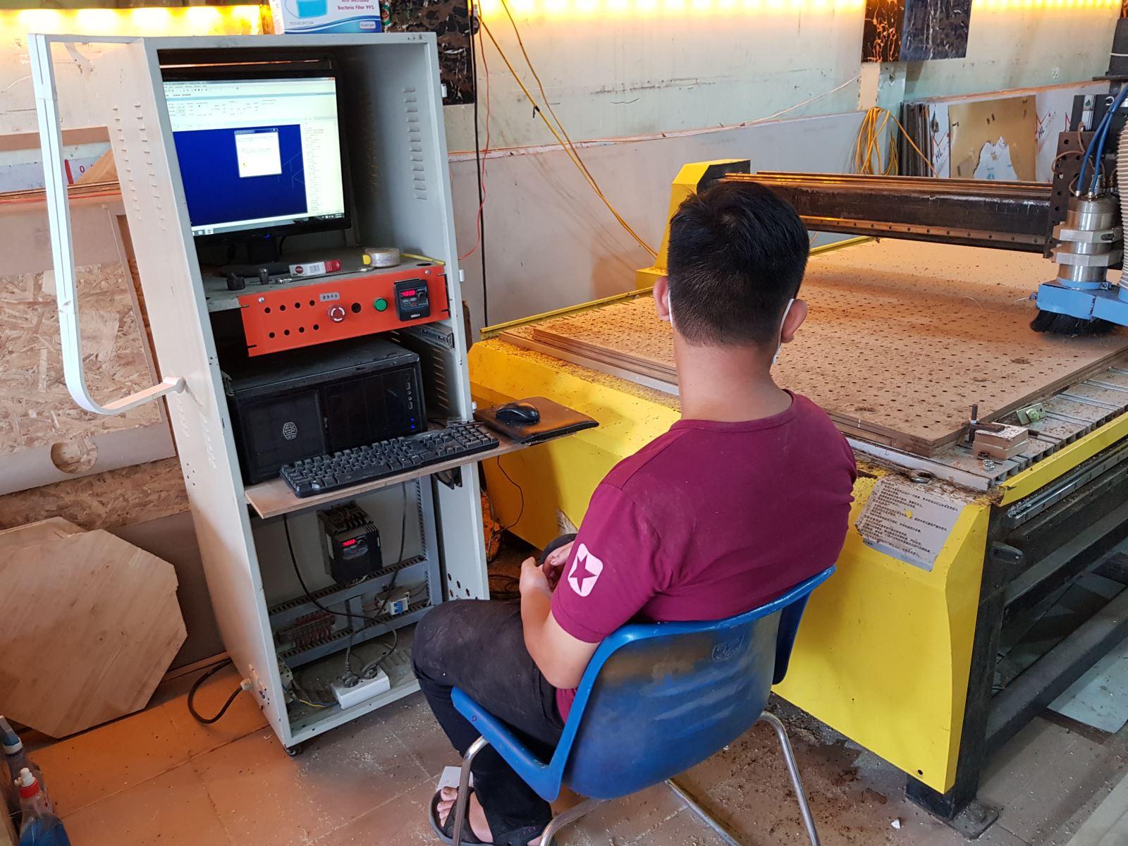 Dịch vụ cắt cnc tại khu vực Quận Binh Thạch