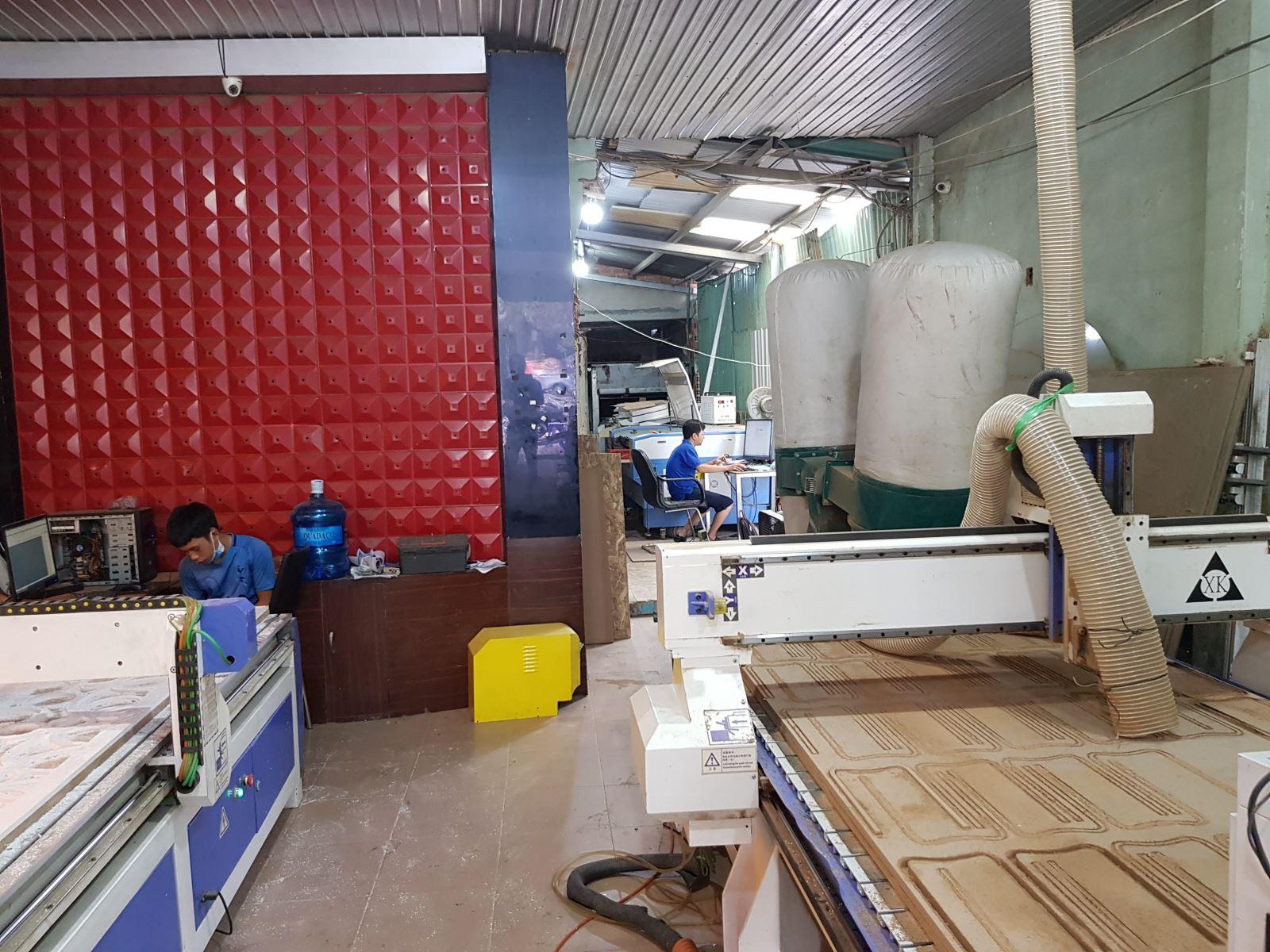Xưởng- gia- công- cắt - CNC- giá- rẻ- hà- huy- giáp- HCM